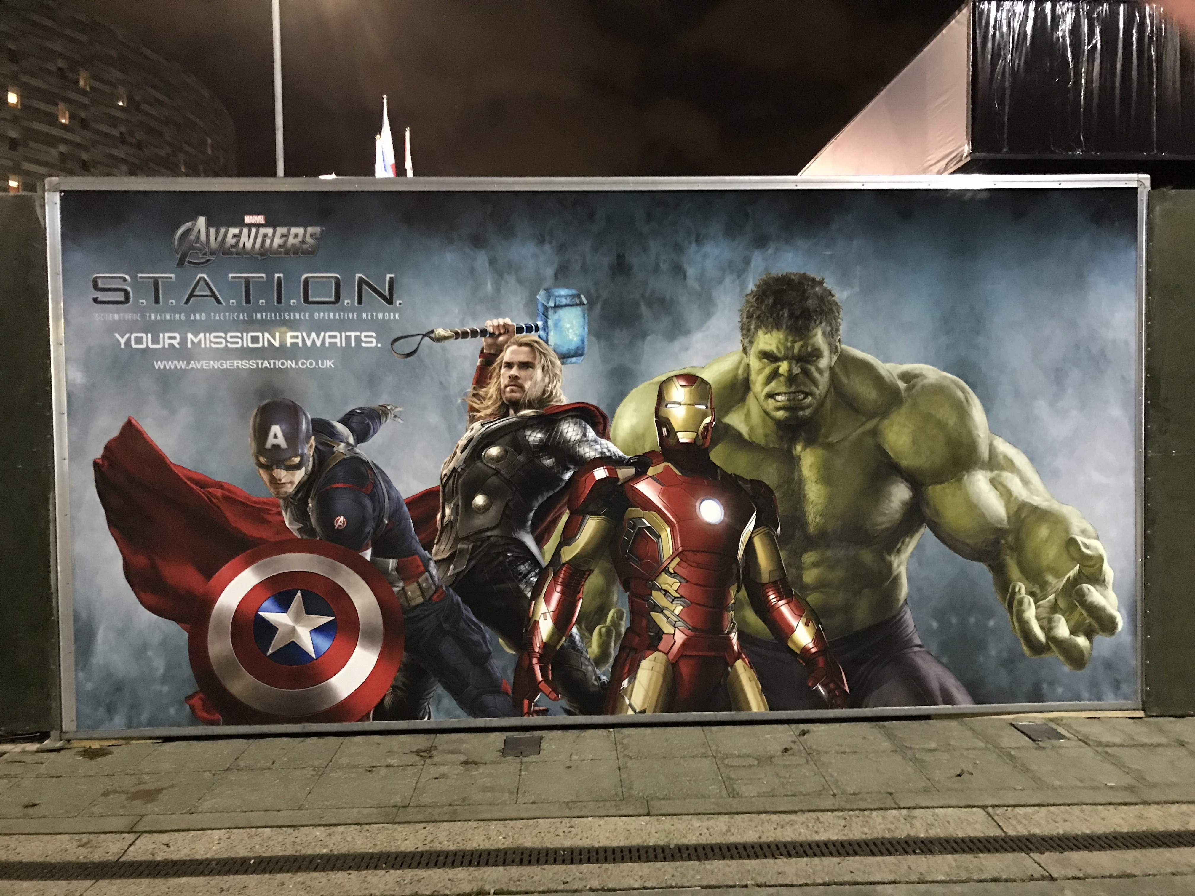 Marvel's Avengers S T A T I O N  London | Sabina Stent